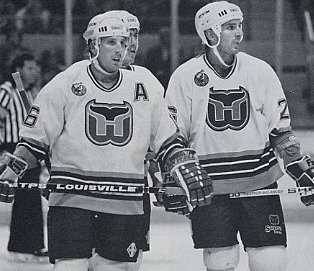 Jim Agnew and Pat Verbeek