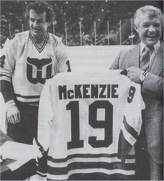 John McKenzie and Dave Keon